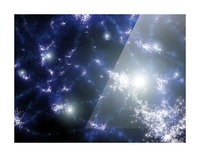 Population III stars clustered together into what will later become galaxies. Picture Frame print