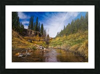 BluffSprings Picture Frame print