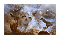 Carina Nebula Star-Forming Pillars. Picture Frame print