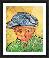 Camille Roulin by Van Gogh Picture Frame print