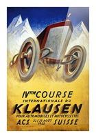 Klausen Suisse Ivme Course Internationale Acs 1925 Picture Frame print