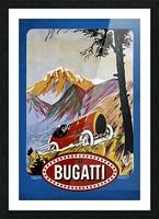 Bugatti Type 9 Prince Henri Affiche Golf Lyon 1911 Picture Frame print