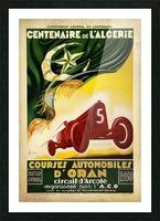 Centenaire L'Algerie Courses Automobiles D'Oran 1930 Picture Frame print