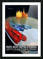 Europe Grand Prix Primo Gran Premio D Europa Circuito Milano Monza 1923 Picture Frame print