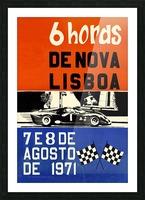 6 Hords De Nova Lisboa Huambo 1971 Picture Frame print