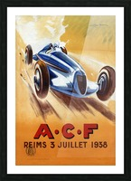 ACF Reims 3 Juillet 1938 Picture Frame print
