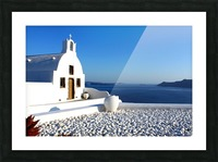 S A N T O R I N I - Greece Picture Frame print