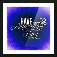AMAZING DAY 02_OSG Picture Frame print