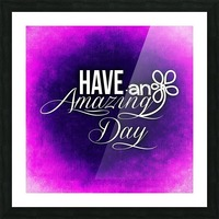 AMAZING DAY 04_OSG Picture Frame print