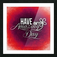 AMAZING DAY 05_OSG Picture Frame print