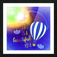 Beautiful Life 03_OSG Picture Frame print