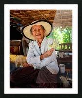 Thai Grandma Picture Frame print