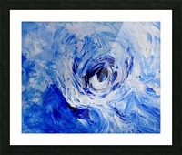 Abstract Storm Picture Frame print