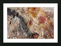 Colors Of Rock Picture Frame print