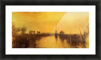 Chichester Canal by Joseph Mallord Turner Picture Frame print