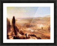 Cicero at his villa by Joseph Mallord Turner Picture Frame print