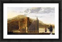 Ubbergen Castle Picture Frame print
