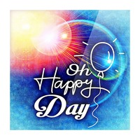 Happy Day_OSG Picture Frame print