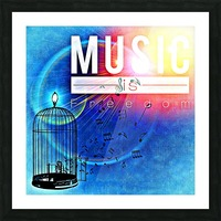 Music_OSG Picture Frame print