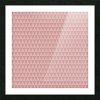 ORANGE Triangle Shape Seamless Pattern Background    Picture Frame print