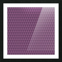 Triangle PURPLE Shape Seamless Pattern Background    Picture Frame print