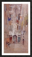 Corte del Paradiso by Whistler Picture Frame print