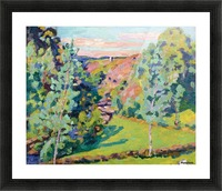 The Valley of Sedelle Picture Frame print