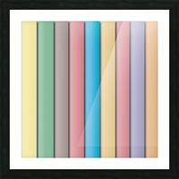 Colorful Pattern   Picture Frame print