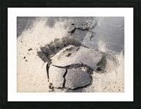 Robinson Crusoe Picture Frame print