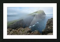 Faroe Cliffs Picture Frame print