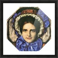 Daughter Mary by Franz von Stuck Picture Frame print