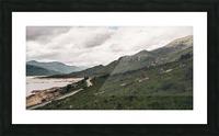 Rive de Loch Cluanie Impression et Cadre photo