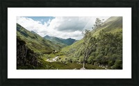 Glen Shiel Impression et Cadre photo