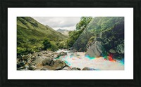 Glen Shiel River - Colorflow 2 Impression et Cadre photo
