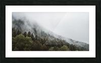 Brume de Montagne Impression et Cadre photo