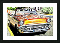 classic convertible Picture Frame print