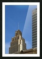 Historic Reynolds Building Picture Frame print