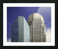 Two Giants Picture Frame print