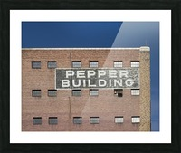Pepper Building 2 Picture Frame print