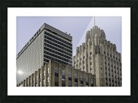 Winston Tower and Reynolds Building Picture Frame print
