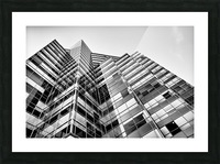 Glass Towers Picture Frame print