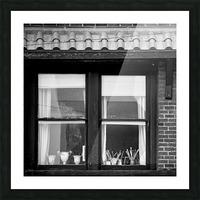 Artist Flat Picture Frame print