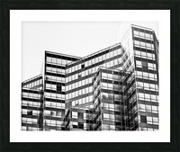 Glass Towers 2 Picture Frame print