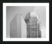 Two Giants BW Picture Frame print
