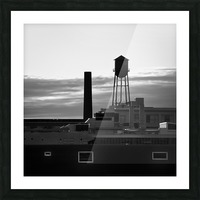 City Rooftops Picture Frame print
