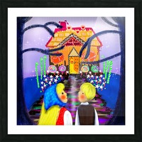 Hansel and Gretel Picture Frame print