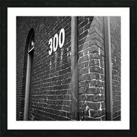 Winston Salem 82 Picture Frame print