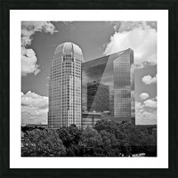 Winston Salem 85 Picture Frame print
