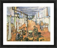 Dormitory in the Hospital in Arles by Van Gogh Picture Frame print