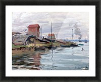 The Seine at Petit-Gennevilliers Picture Frame print